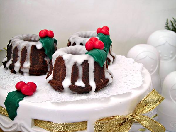 mini bundt cake di natale 6