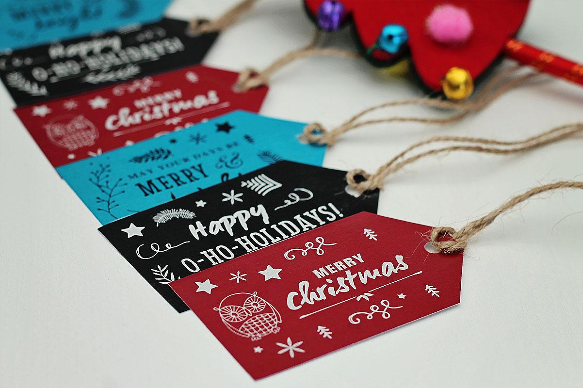 Uitzonderlijk Printable: Leuke labels voor al je Kerstcadeaus #KW42