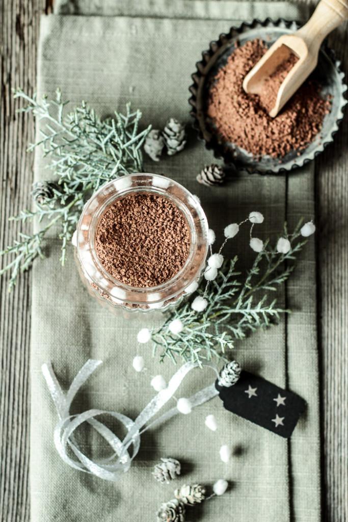 Chocomelk met kruiden