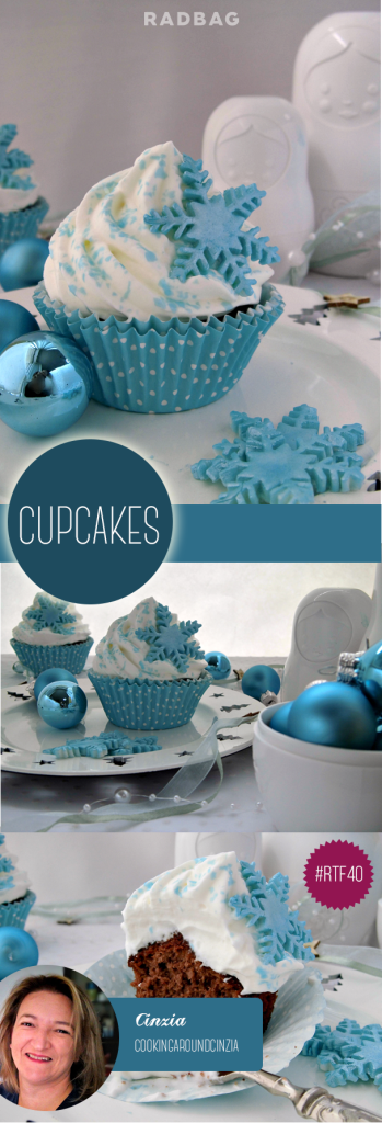 Cupcakes Kerstmis