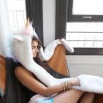 Kerstcadeau voor vriendin - Eenhoorn capuchon