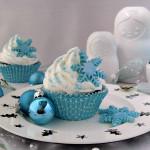 Winterse cupcakes