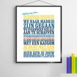 Moederdag cadeau - Herinnering poster