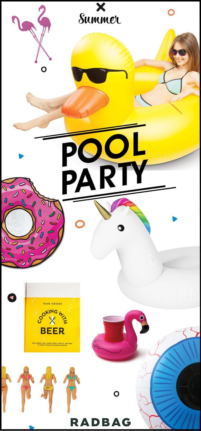 Gadgets voor poolparty
