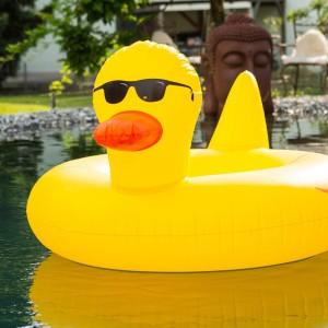 Poolparty gadget - Eend zwemband