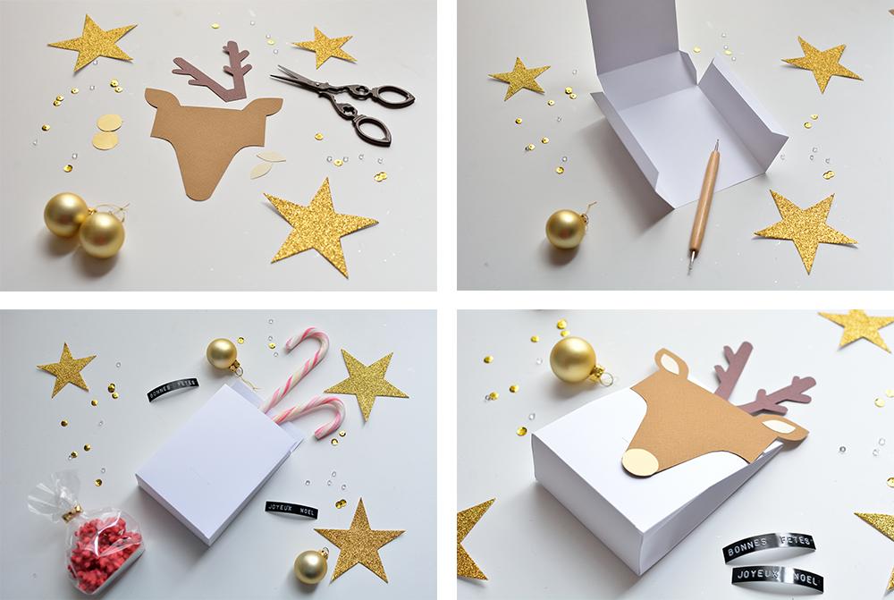 Kerstmis 2016 – Rendier cadeau doosjes - 1