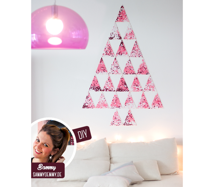 Kerstmis 2016 - DIY confetti Kerstboom - Header