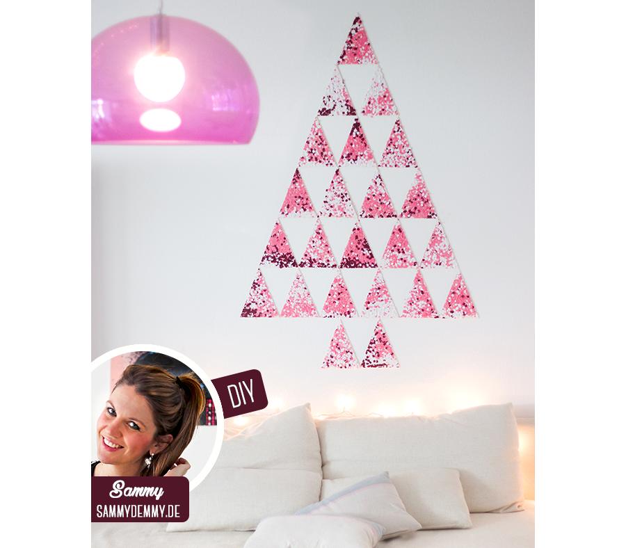 Kerstmis 2016 - DIY confetti Kerstboom - Header