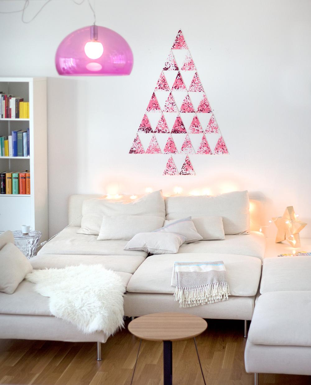 Kerstmis 2016 - DIY confetti kerstboom - 1
