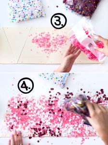 Kerstmis 2016 - DIY confetti kerstboom - 4
