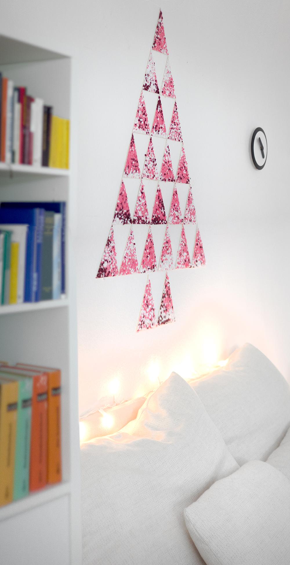 Kerstmis 2016 - DIY confetti kerstboom - 7