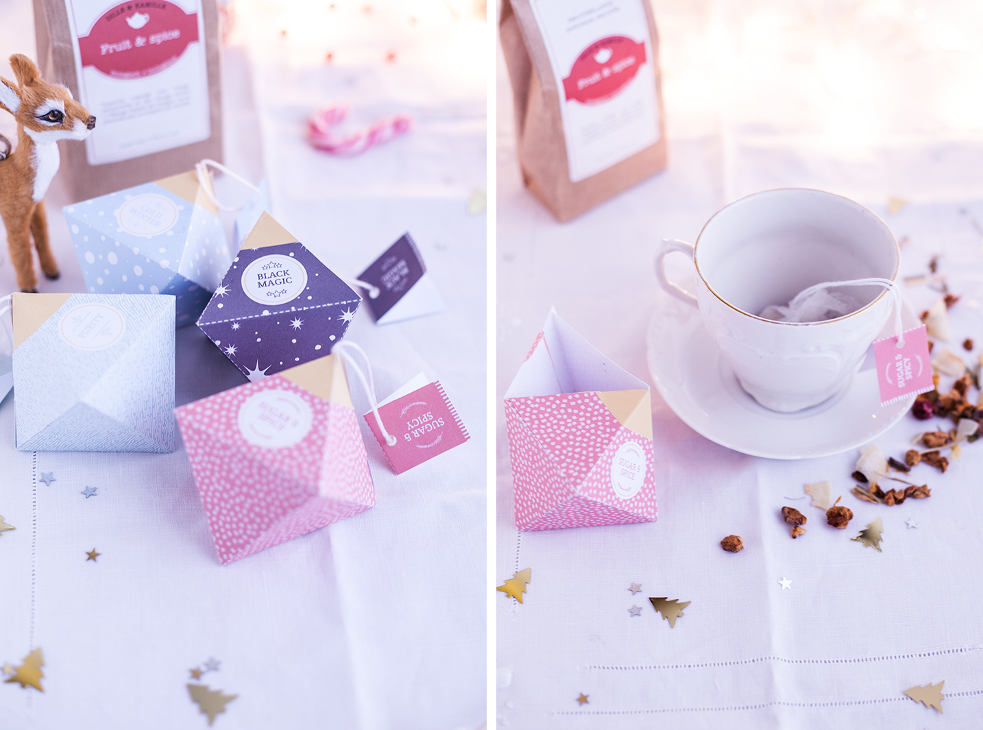Kerstmis 2016 - DIY tea box 3