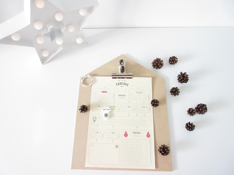 Kerstmis 2016 - Kerstcadeau checklist printable -5