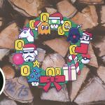 Kerstmis 2016 - Nerdy Kerstkrans header
