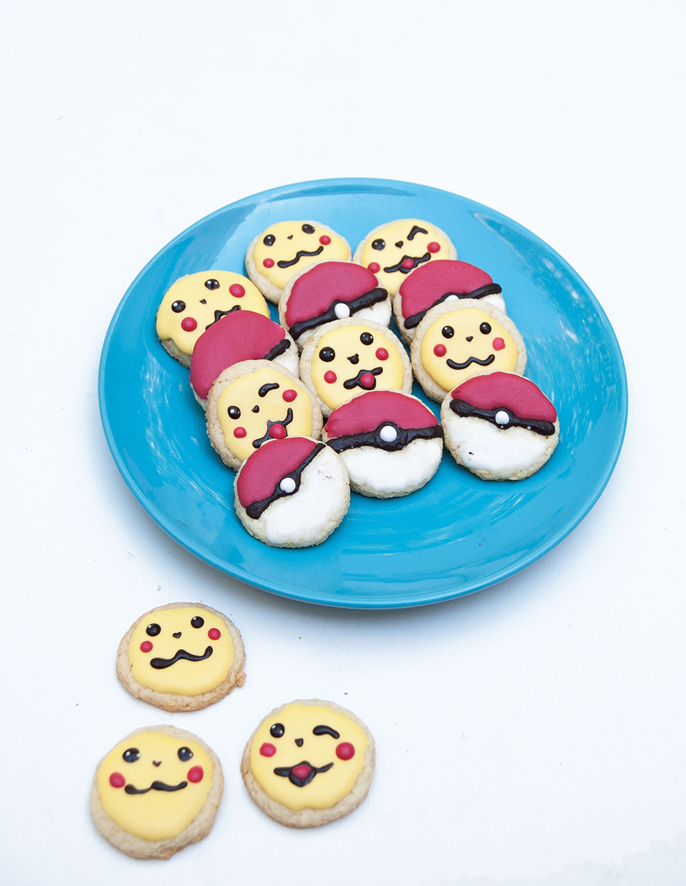 Kerstmis 2016 - Pokémon Go...koekjes!