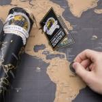 Cadeau voor vriend - Krasbare wereldkaart