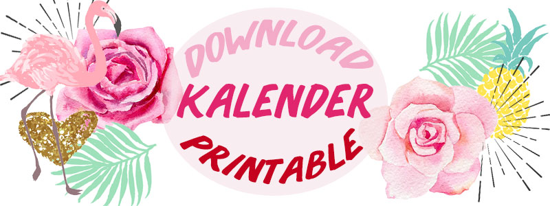 Download kalender 2017 printable