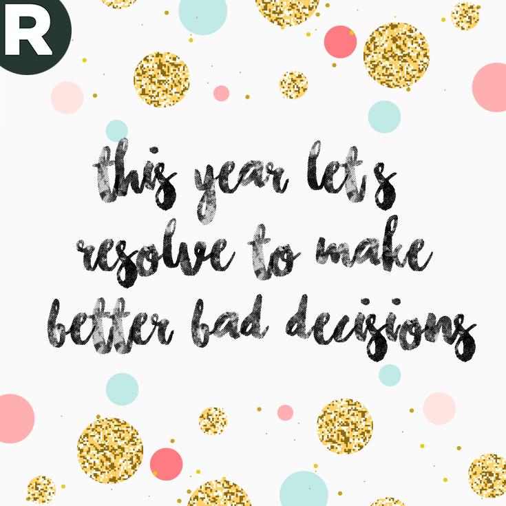 Nieuwjaar - resolutie 1