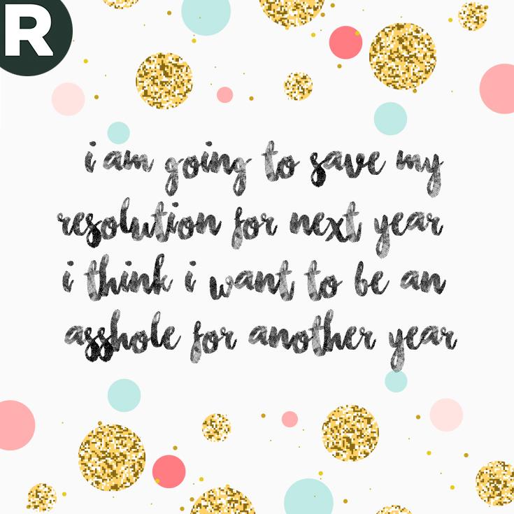 Nieuwjaar - resolutie 5