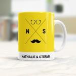 Personaliseerbaar cadeau - Hipster tas