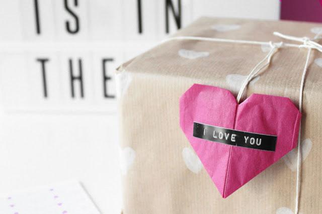 Valentijnscadeau - DIY origami hart 4