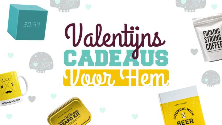Valentijnscadeau voor hem - Header