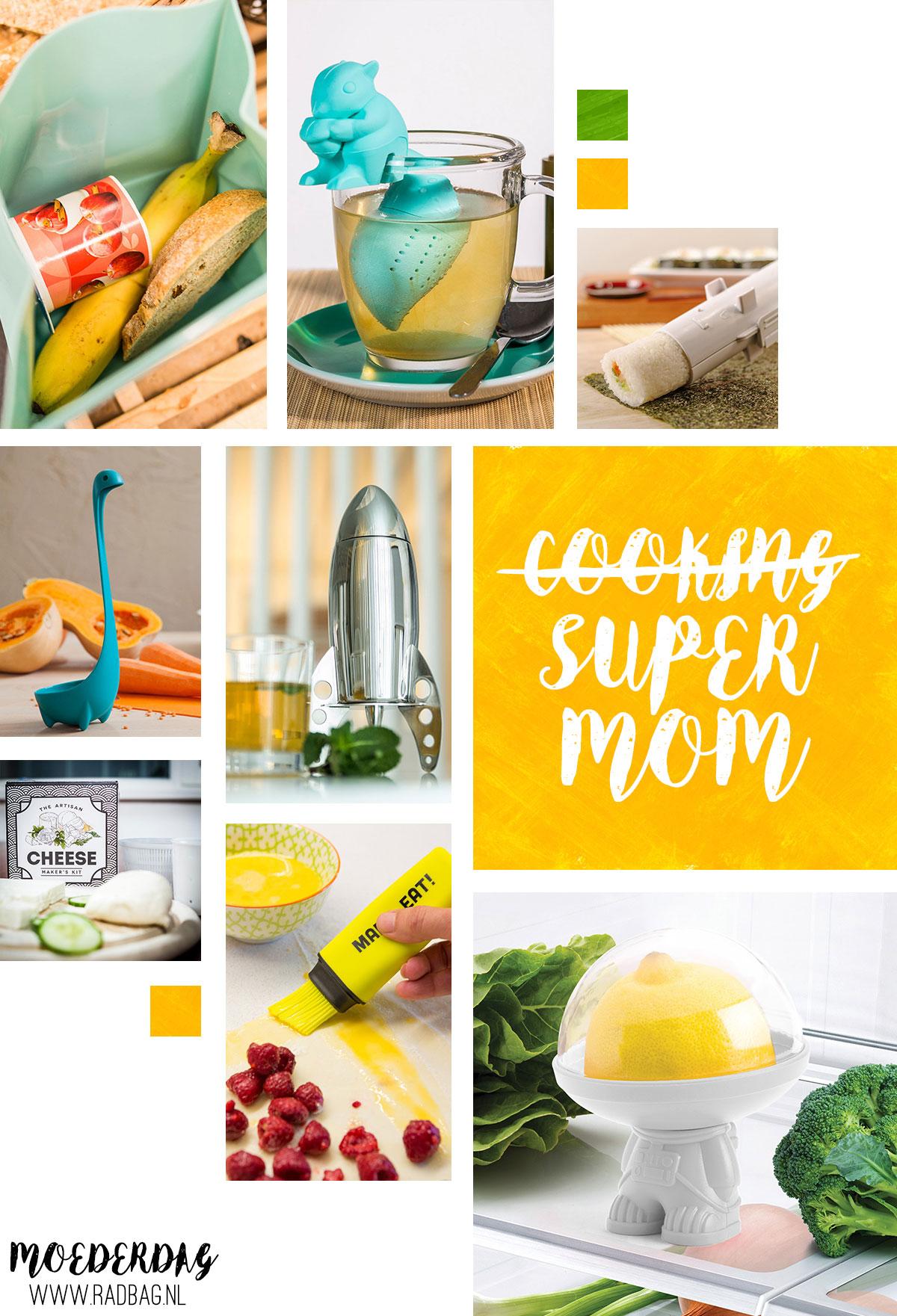 Moederdag cadeaus 8 dingen die je keukenprinses nodig heeft for Dingen voor moederdag