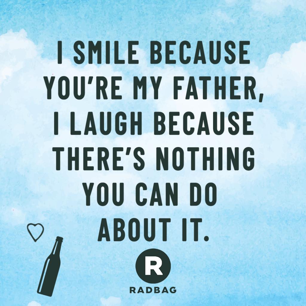 Favoriete 6 grappige en originele quotes als Vaderdag gedicht @QV81