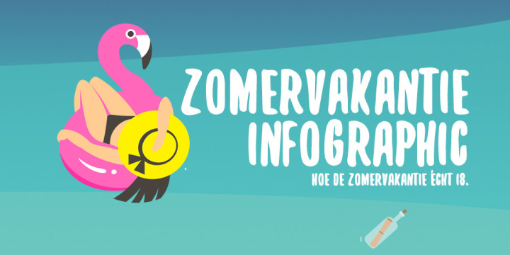 Header - Zomer infographic