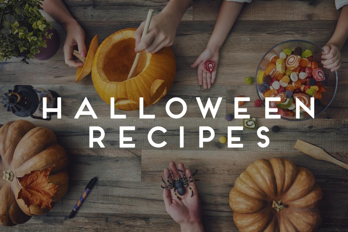 Header halloween recipes