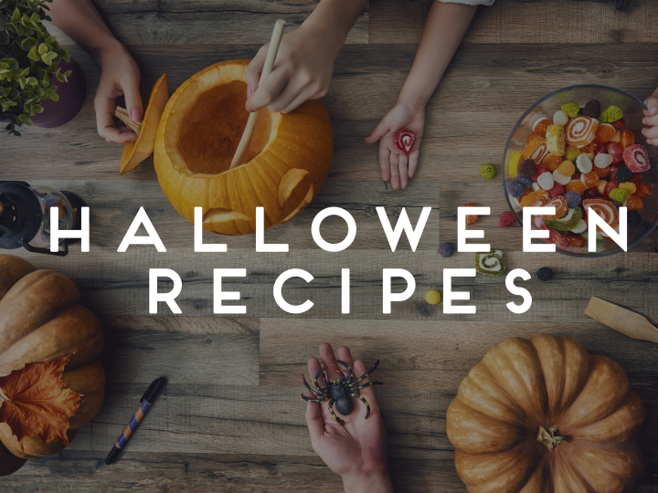 Header halloween recipes