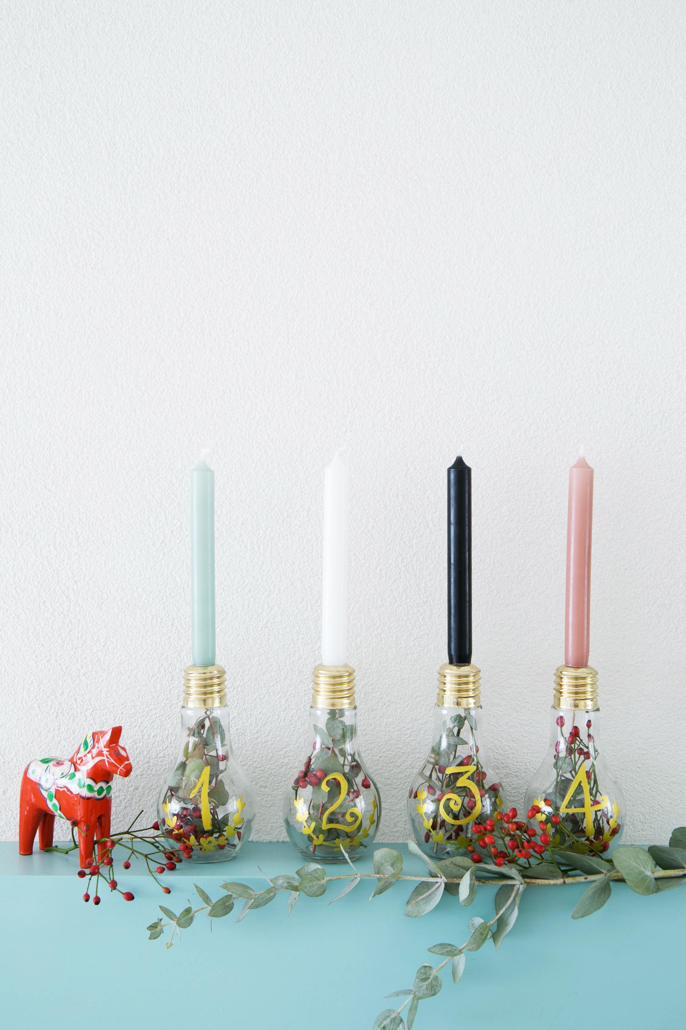 adventskrans voor kerst xmas diy