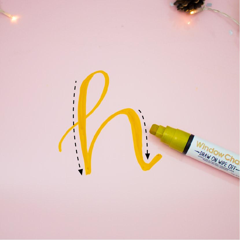 lettering DIY