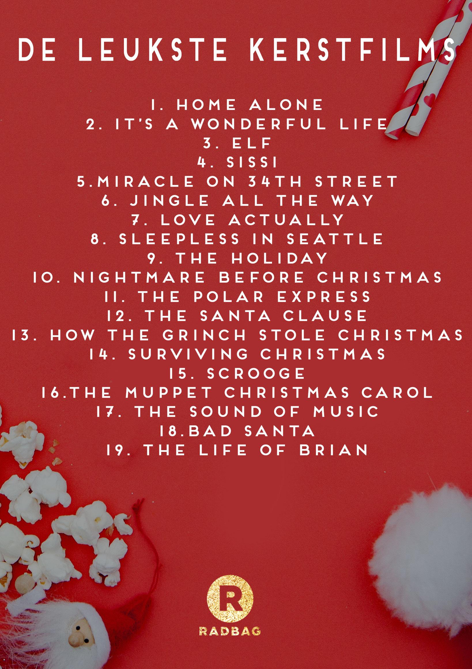 de leukste kerstfilms voor deze kerst