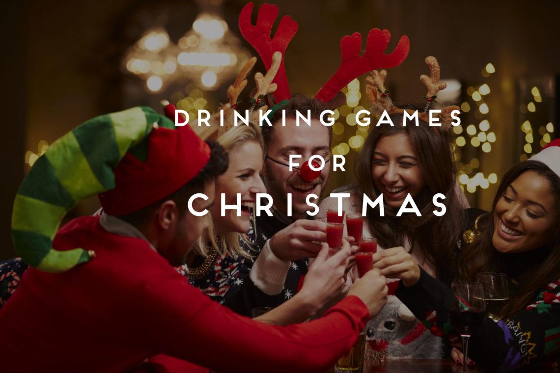 Beer pong drankspellen kerstmis