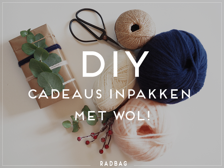 Vaak DIY - inpak ideeën met wol voor het leukste kerscadeau ooit! #GW18