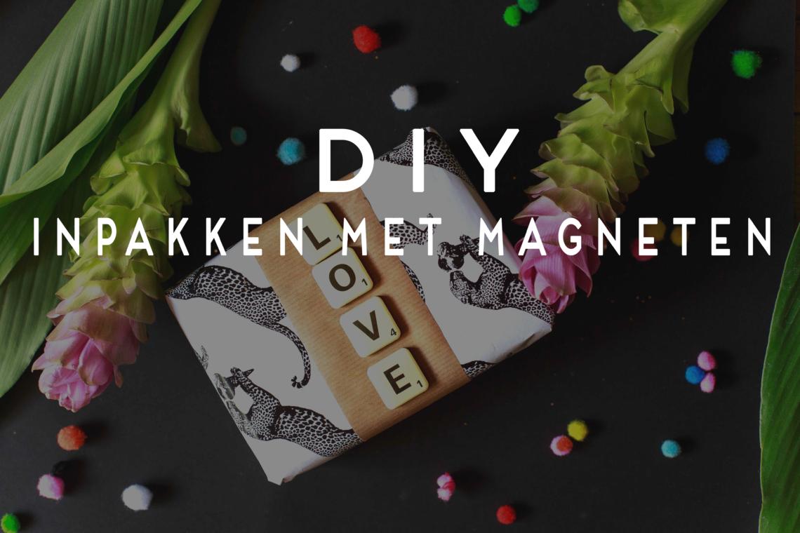 cadeau inpakken met magneten voor kerst