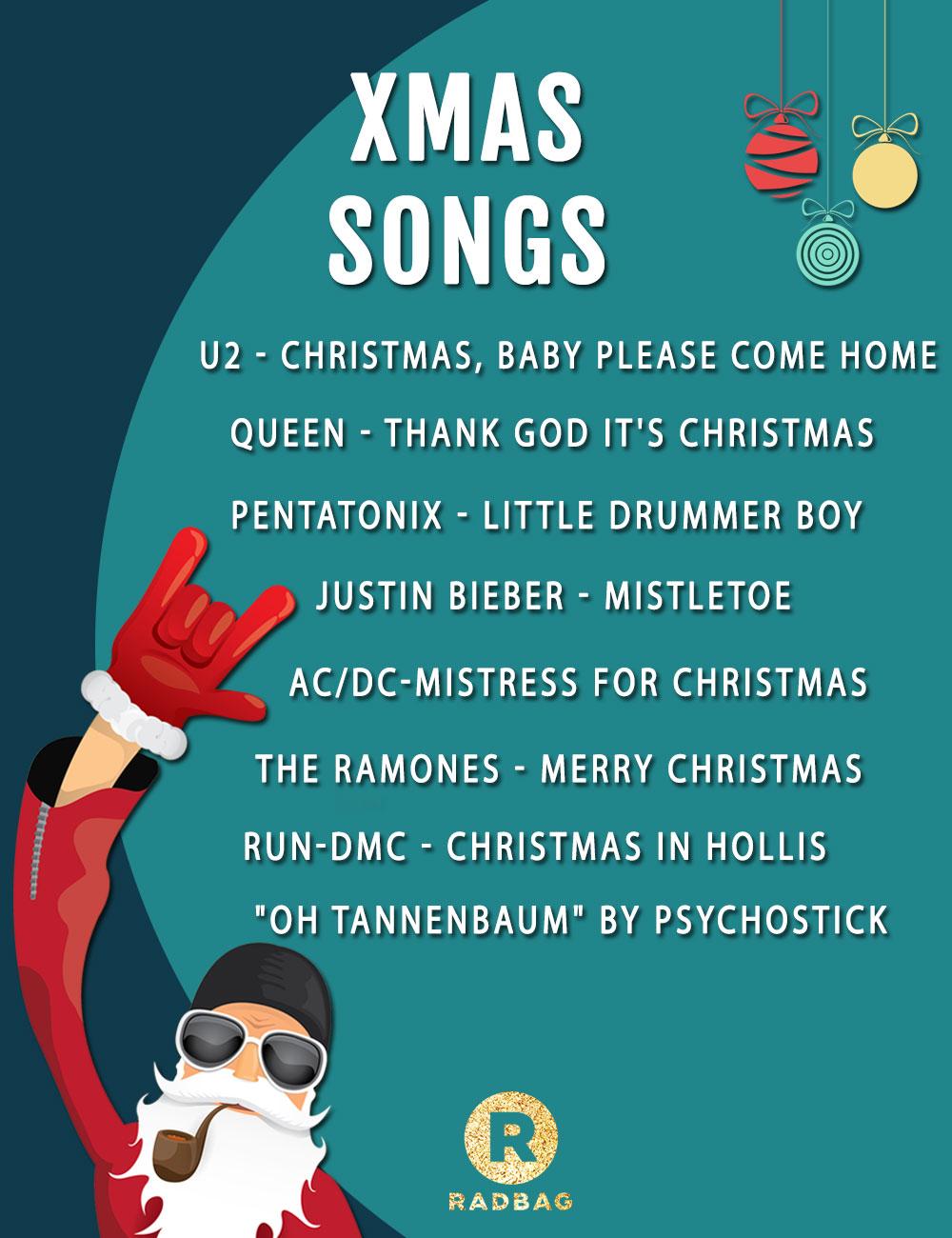 kerstnummers voor kerst