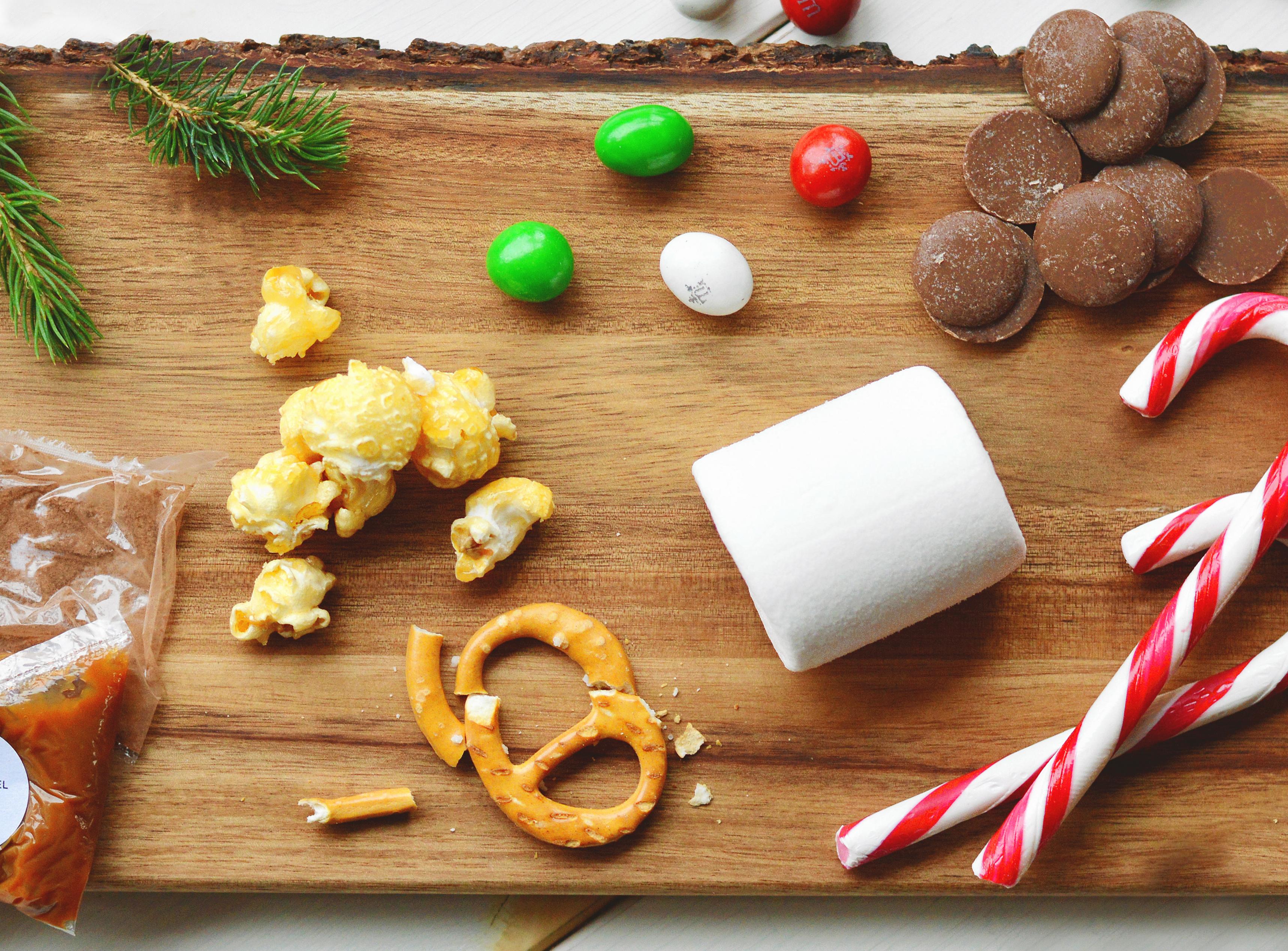 freakshake ingredienten kerst fotolijst