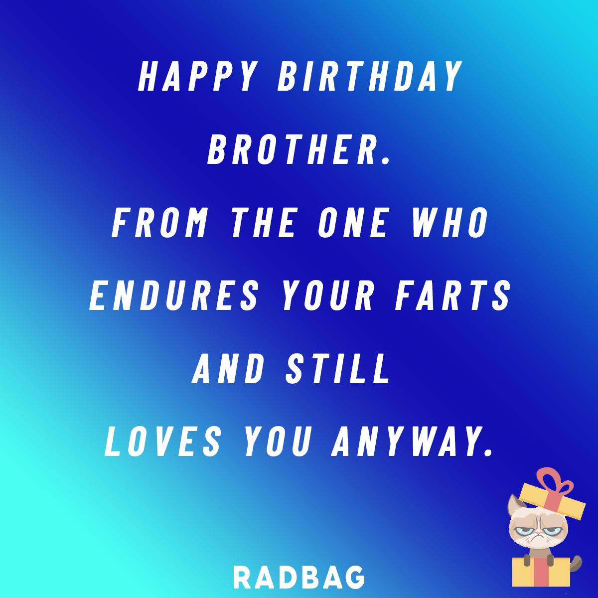 Gelukkige Verjaardag Broer De Leukste Geschenken Spreuken