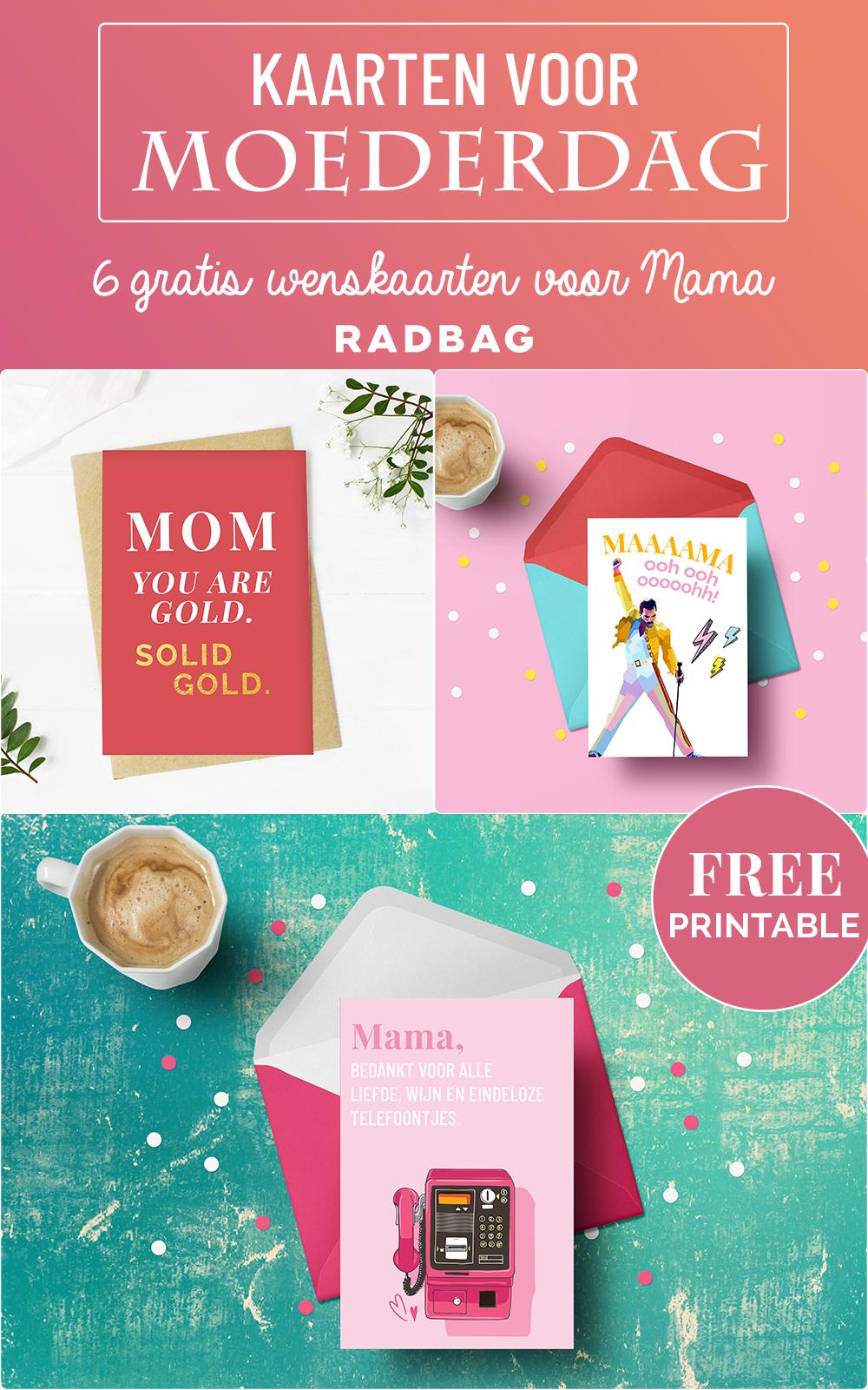 kaarten voor moederdag