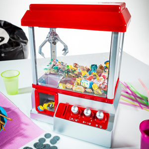 Sinterklaas cadeautjes - candy grabber snoepmachine
