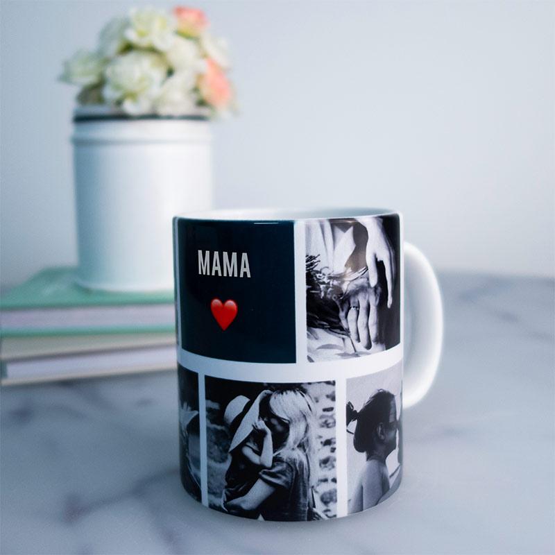 cadeau voor mama - gepersonaliseerde fotomok