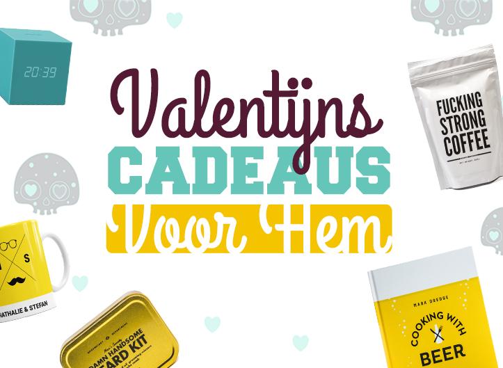 Op zoek naar een Valentijnscadeau voor hem?