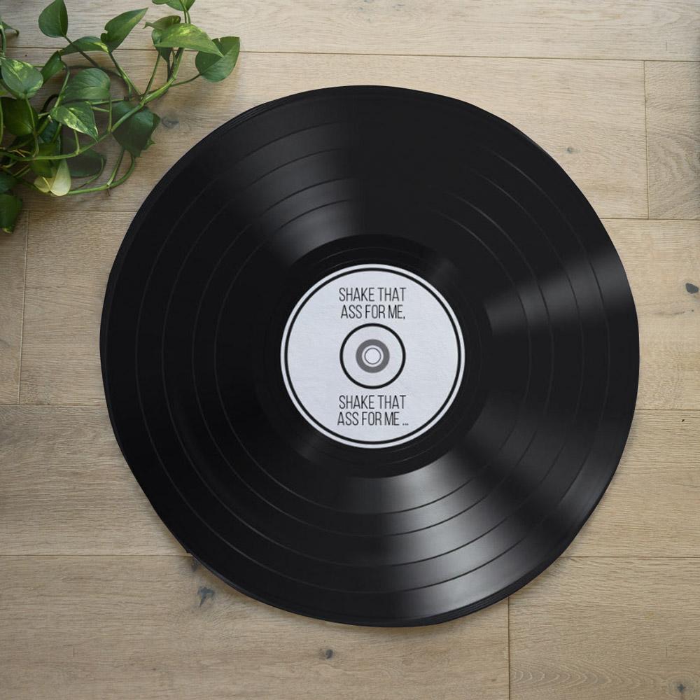 Personaliseerbare LP badmat