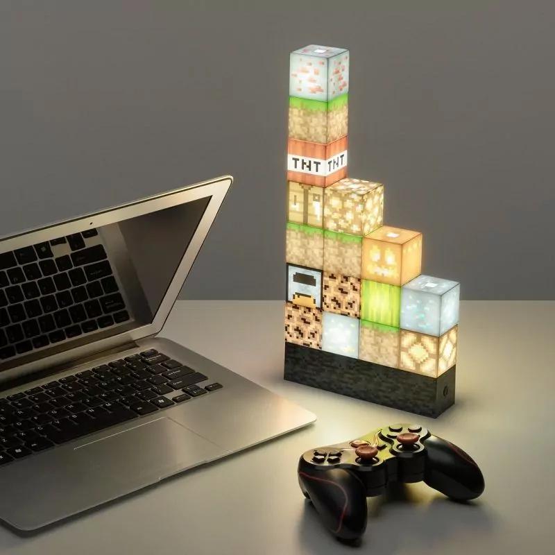 Minecraft Block lamp met 16 elementen