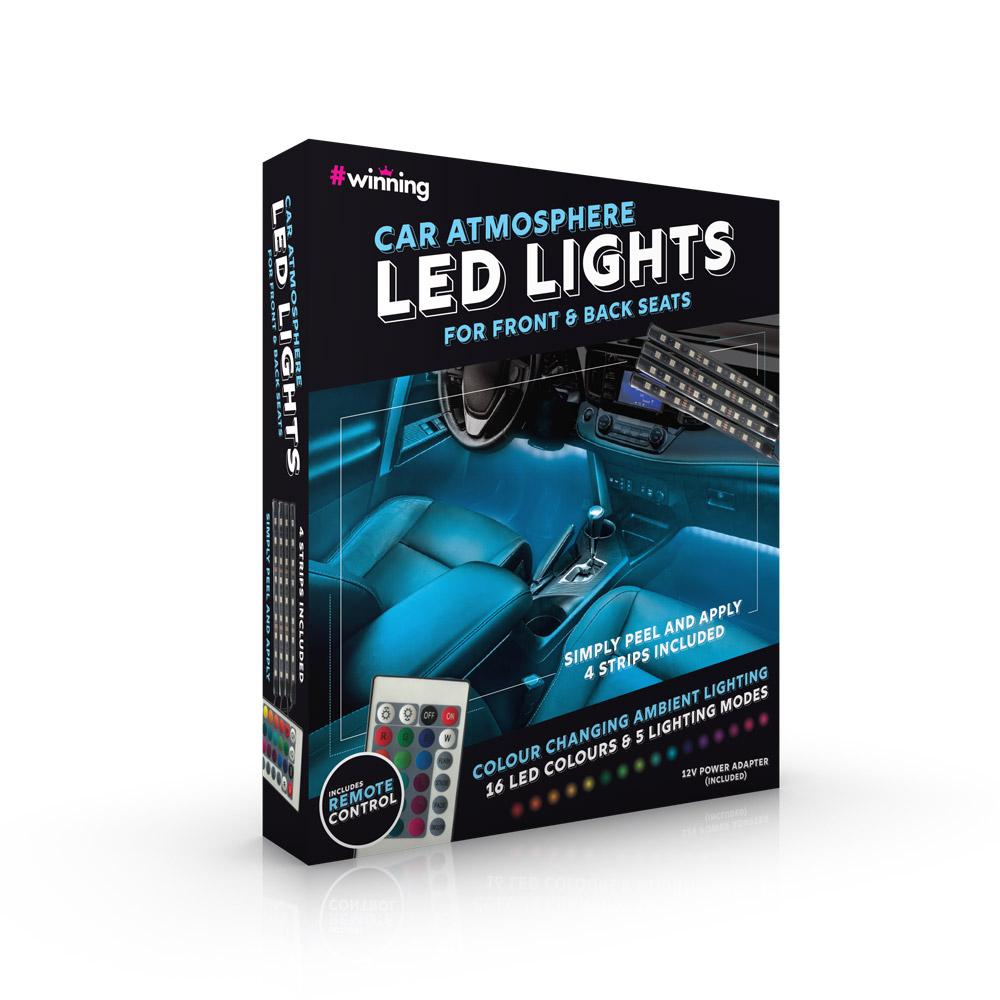 LED Verlichting voor Auto Ambiance