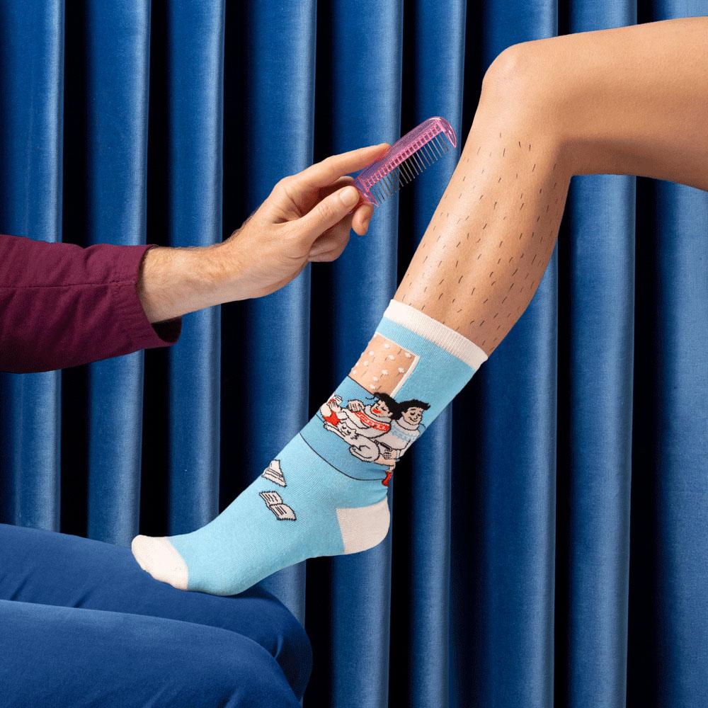 Behaaglijke knusse sokken