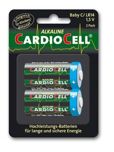Cardiocell batterij Baby C-LR14 2-pak