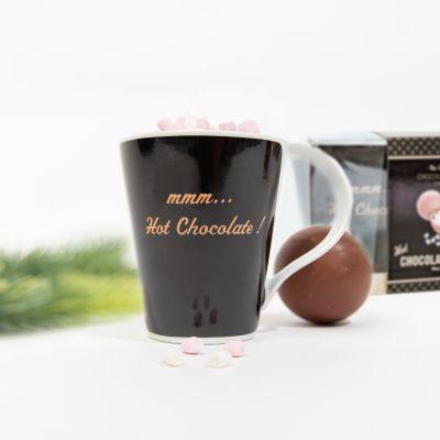 Chocoladebom met mok geschenkset